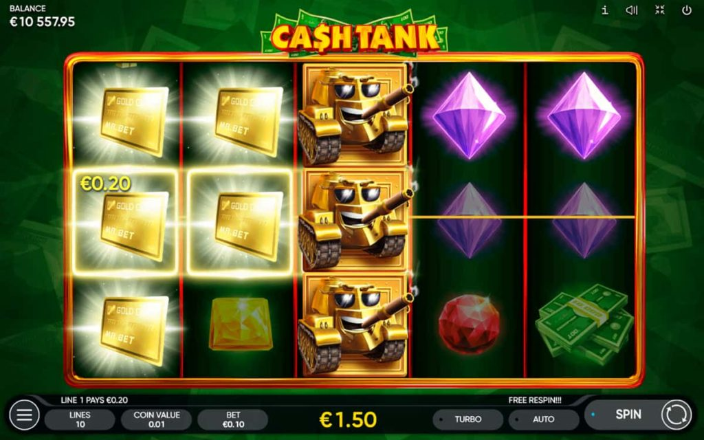Play Free Cash Tank Slot