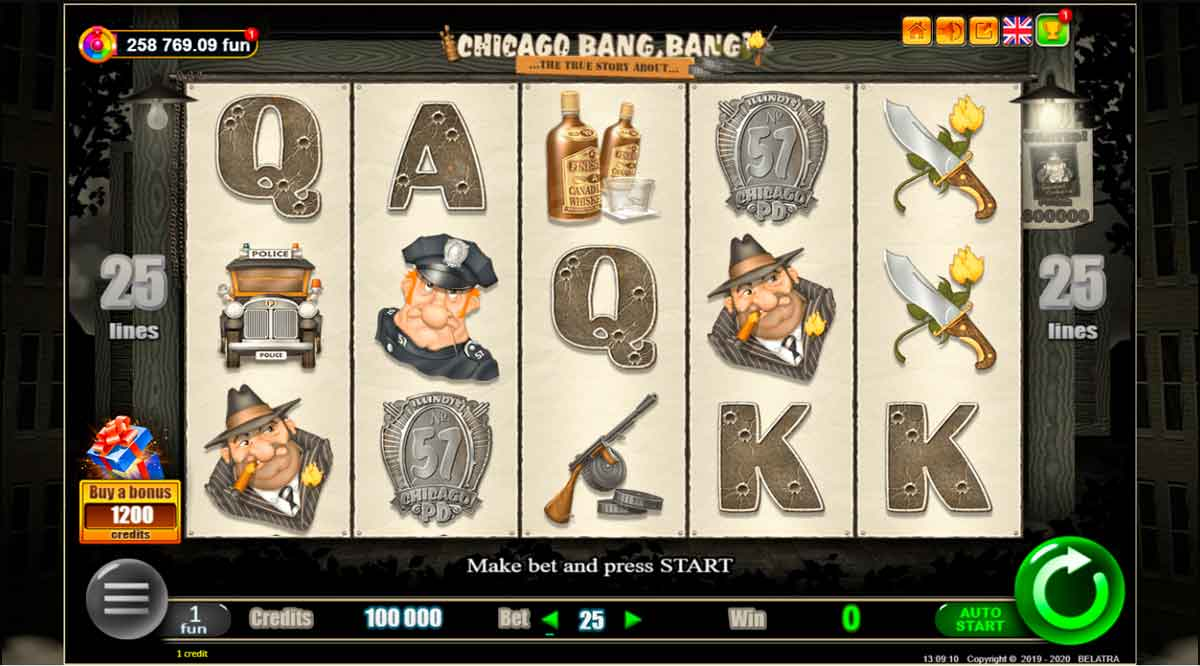 Play Free Chicago Bang, Bang! Slot