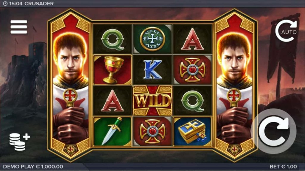 Play Free Crusader Slot