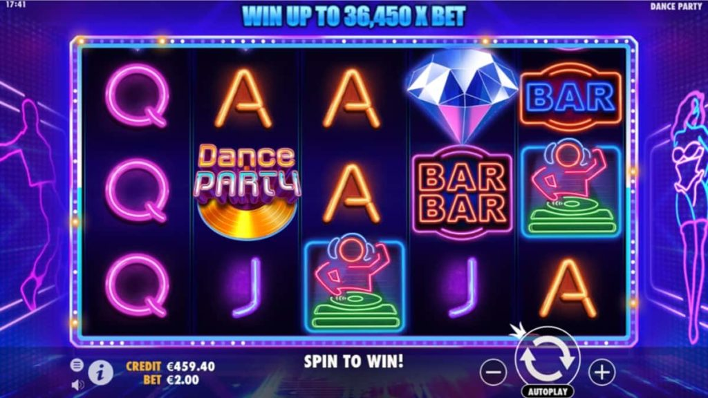 Play Free Dance Party Slot