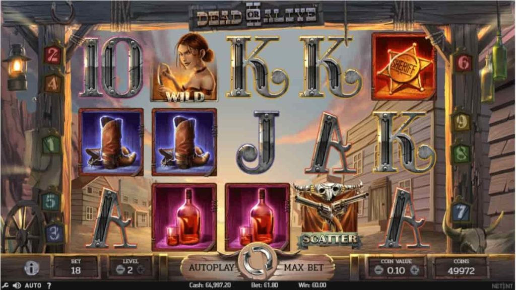 Play Free Dead or Alive 2 Slot
