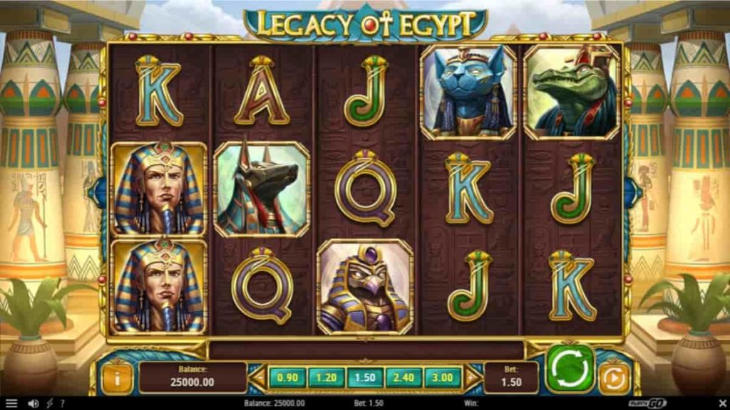 Play Free Legacy of Egypt Slot