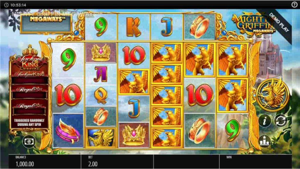 Play Free Mighty Griffin Megaways Slot