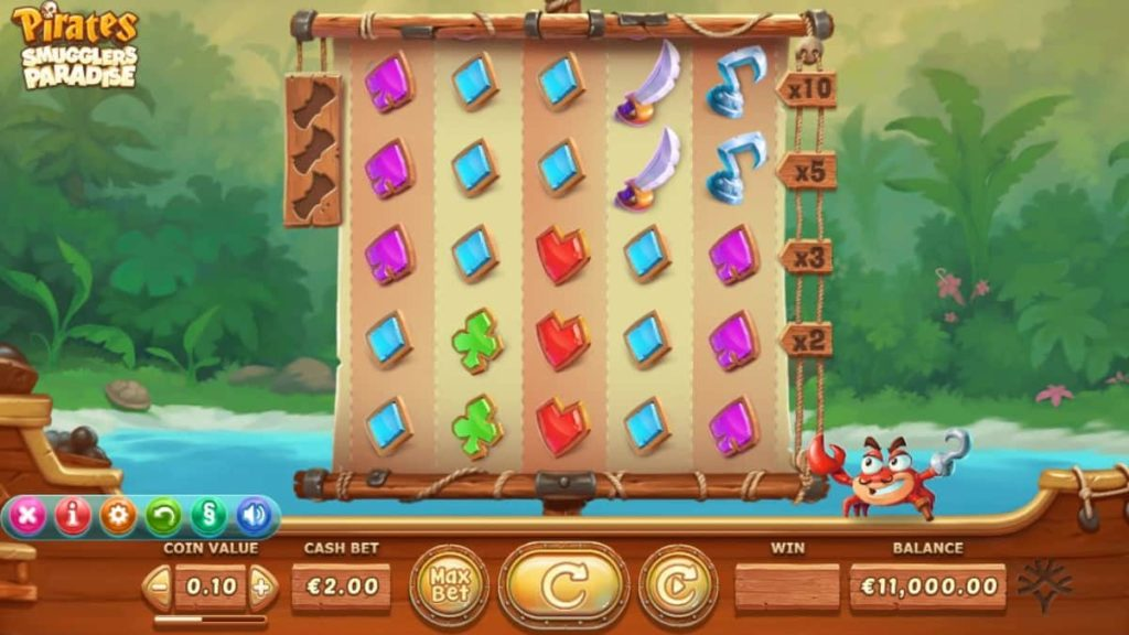 Play Free PIRATES - SMUGGLERS PARADISE Slot