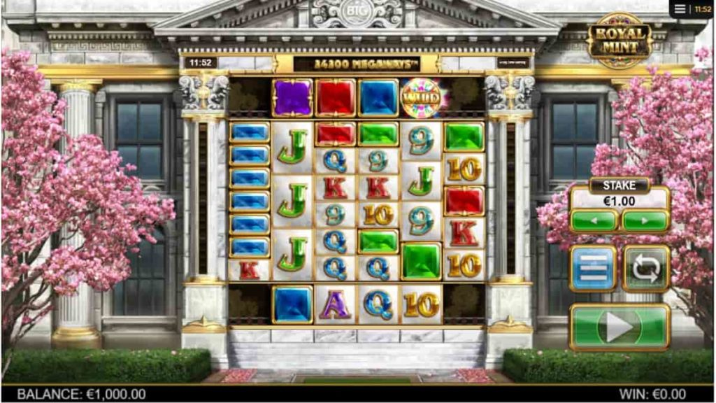 Play Free Royal Mint Megaways Slot