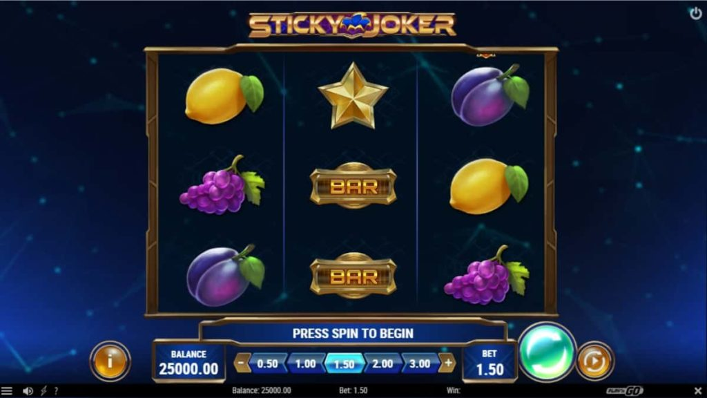 Play Free Sticky Joker Slot
