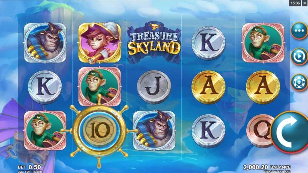 Play Free Treasure Skyland Slot