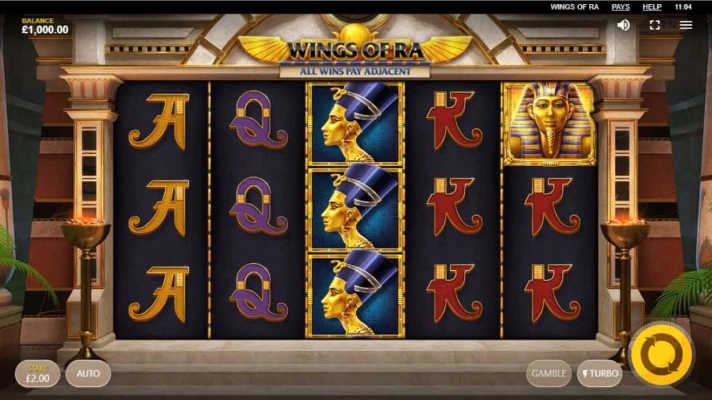 Play Free Wings of Ra Slot