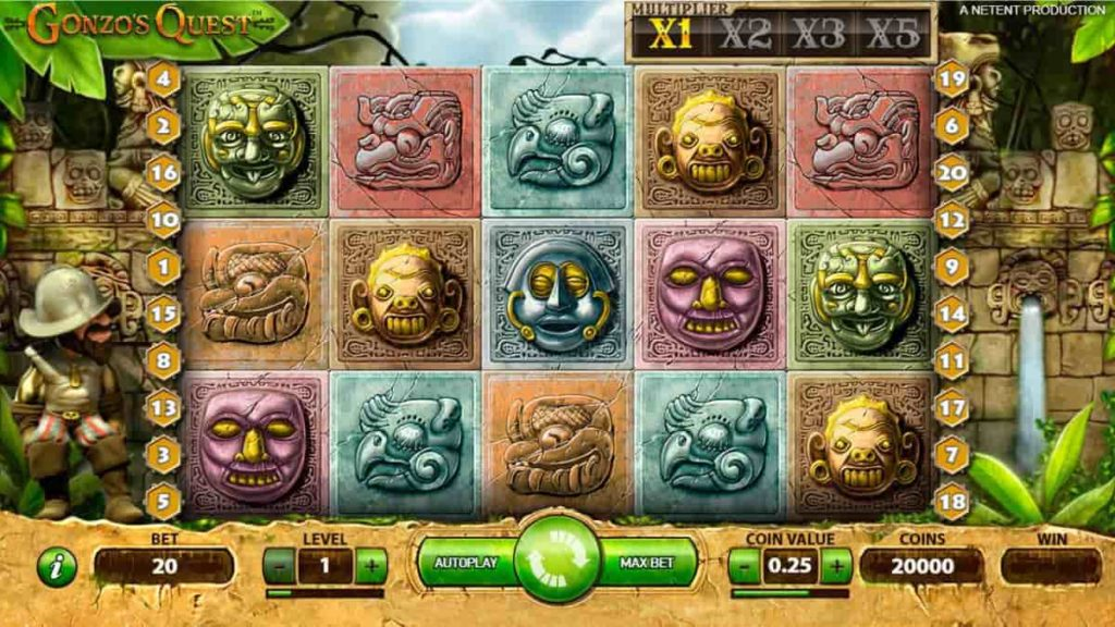 Play Free Gonzo's Quest Slot