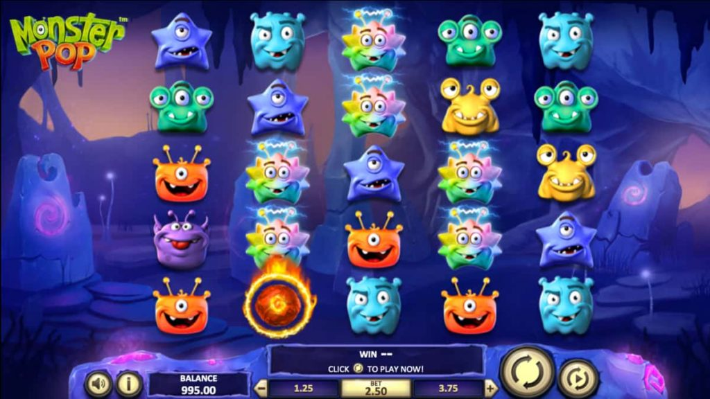 Play Free Monster Pop Slot