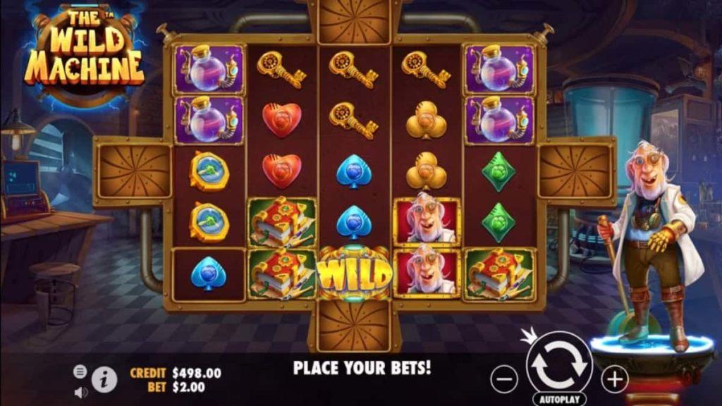 Play Free The Wild Machine Slot