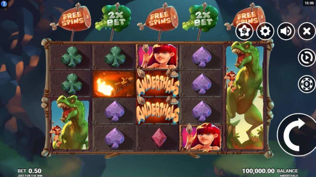 Play Free Anderthals Slot