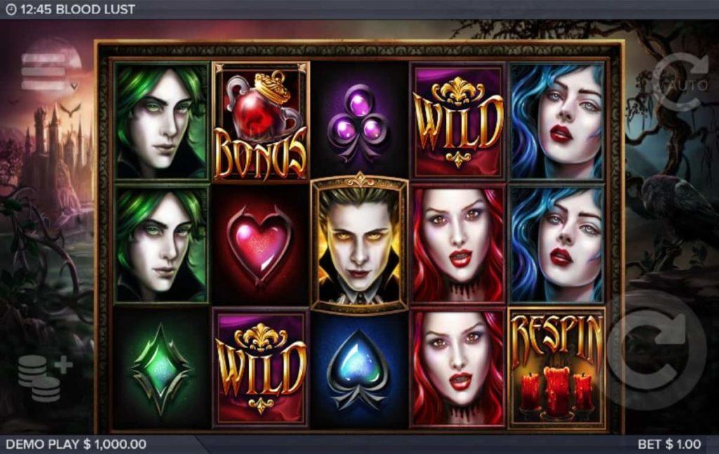Play Free Blood Lust Slot