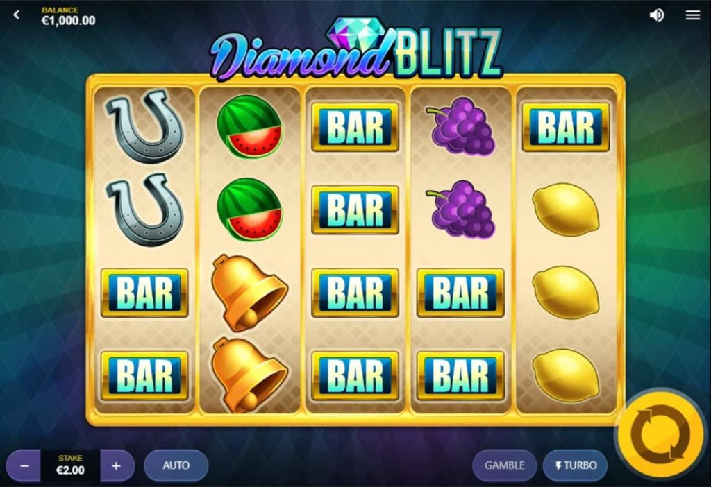 Play Free Diamond Blitz Slot