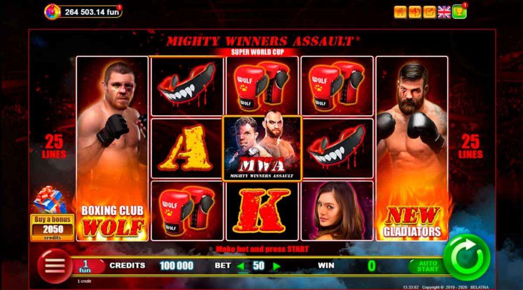 Play Free MWA Wighty Winners Assault Slot