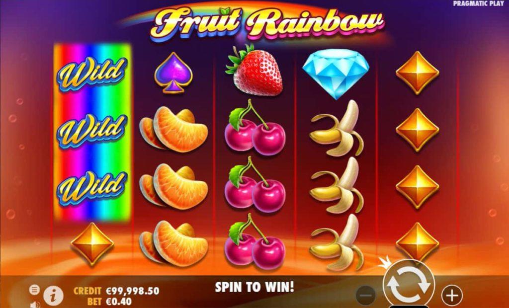 Play Free Fruit Rainbow Slot