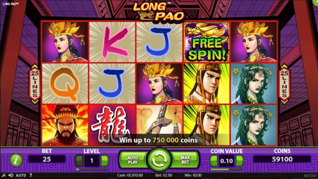 Play Free Long Pao Slot