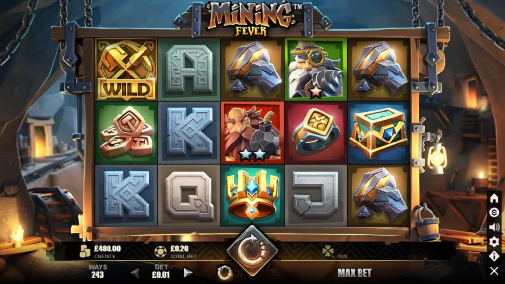 Play Free Mining Fever Slot