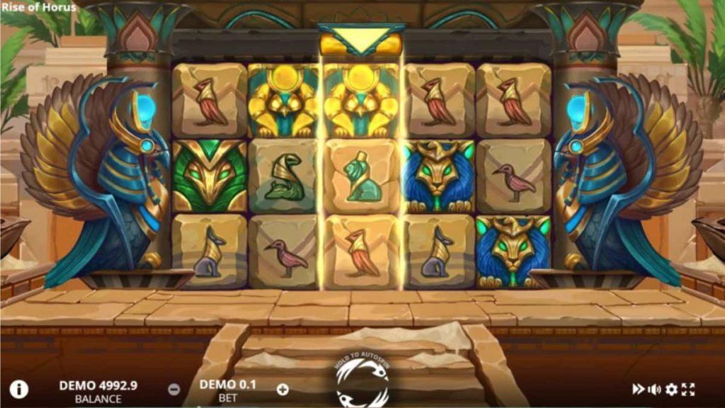 Play Free Rise of Horus Slot