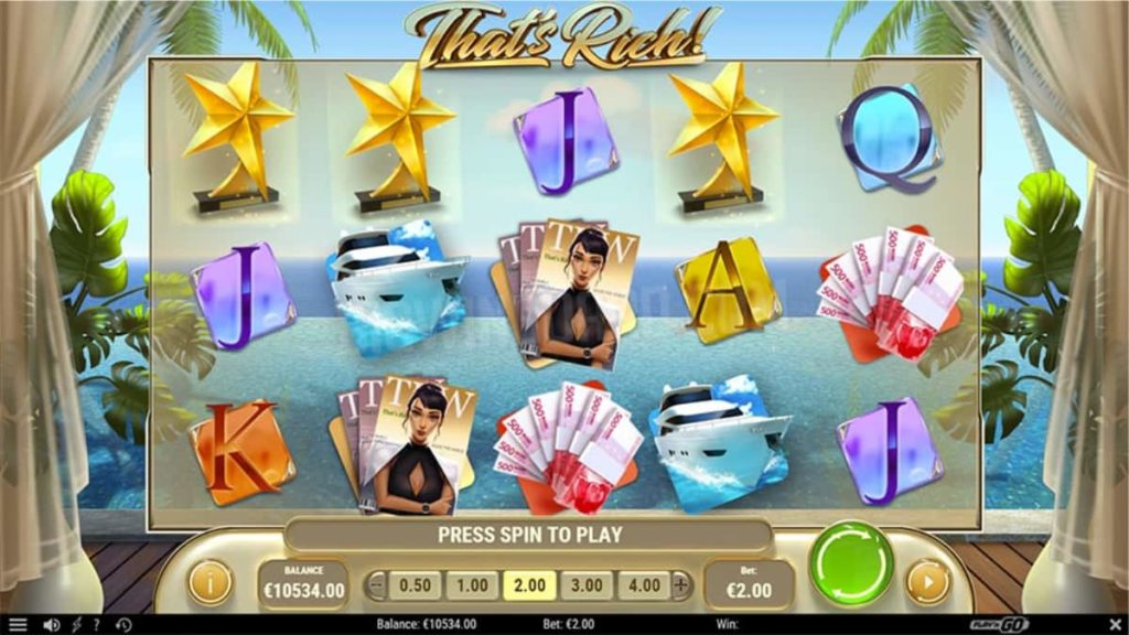 Play Free That's Rich Slot