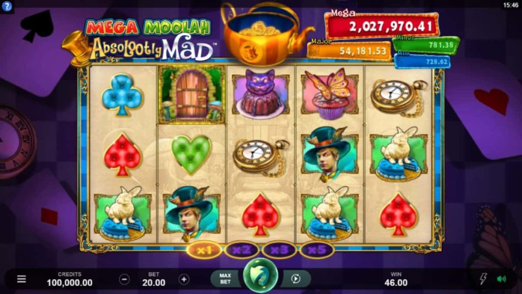 Play Free Absolootly Mad Mega Moolah Slot