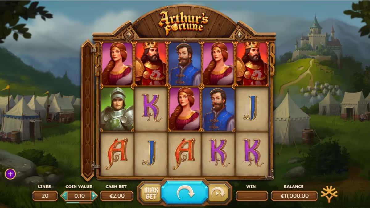 Play Free Arthur's Fortune Slot