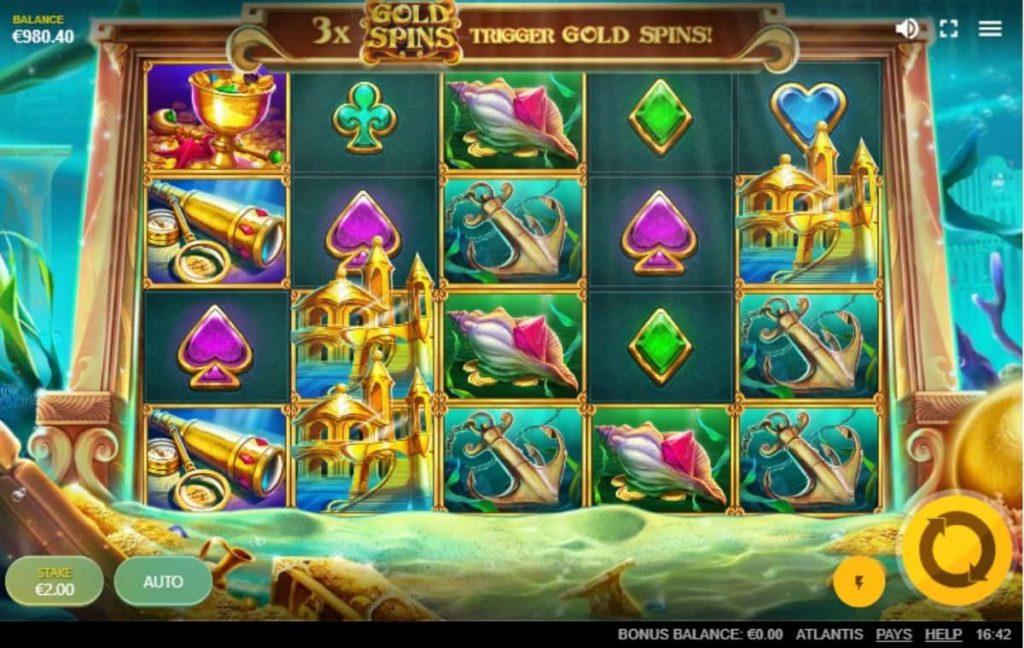Play Free Atlantis Slot