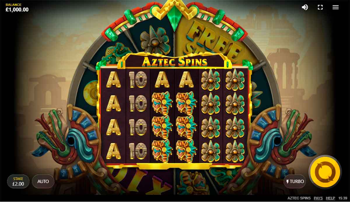 Play Free Aztec Spins Slot
