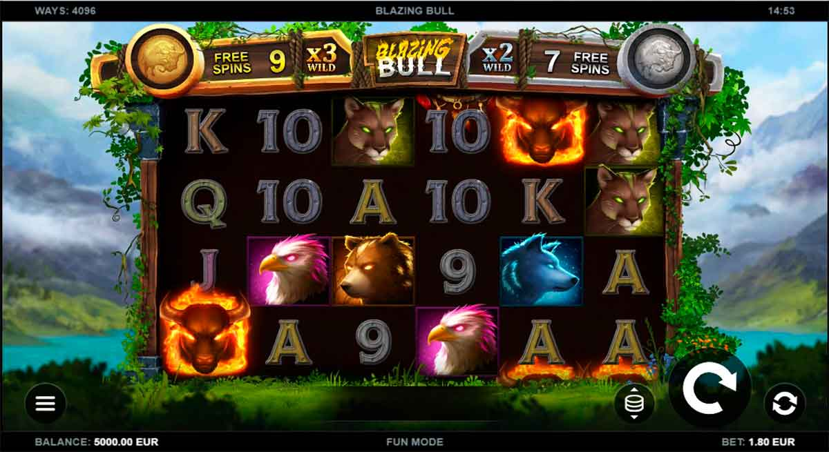 Play Free Blazing Bull Slot