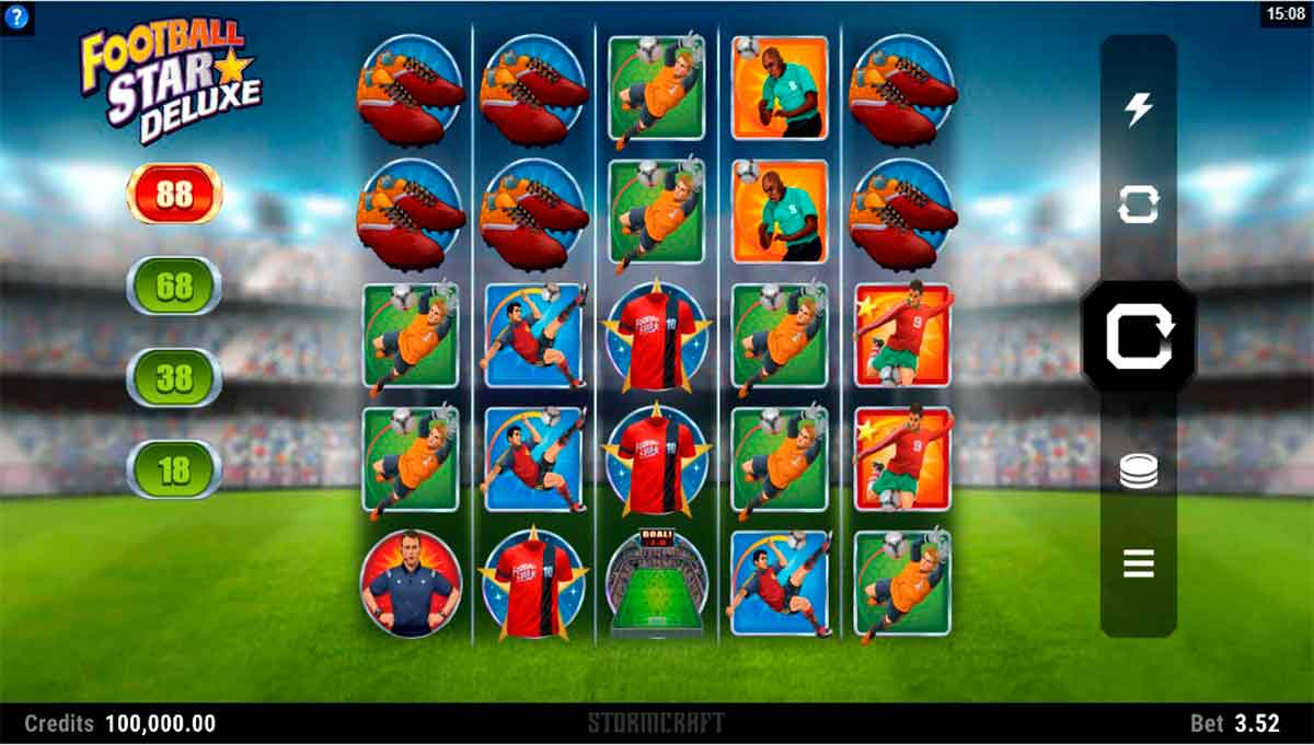 Play Free Football Star Deluxe Slot