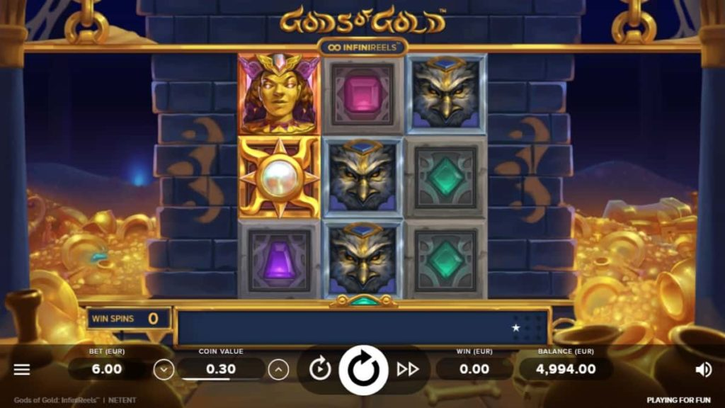Play Free Gods of Gold INFINIREELS Slot