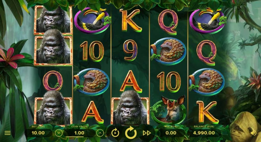 Play Free Gorilla Kingdom Slot