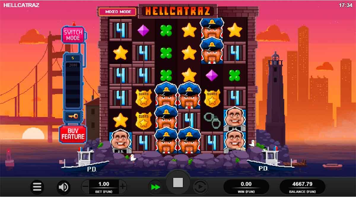 Play Free Hellcatraz Slot