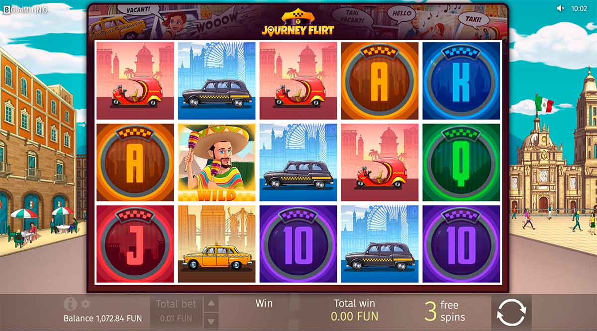 Play Free Journey Flirt Slot