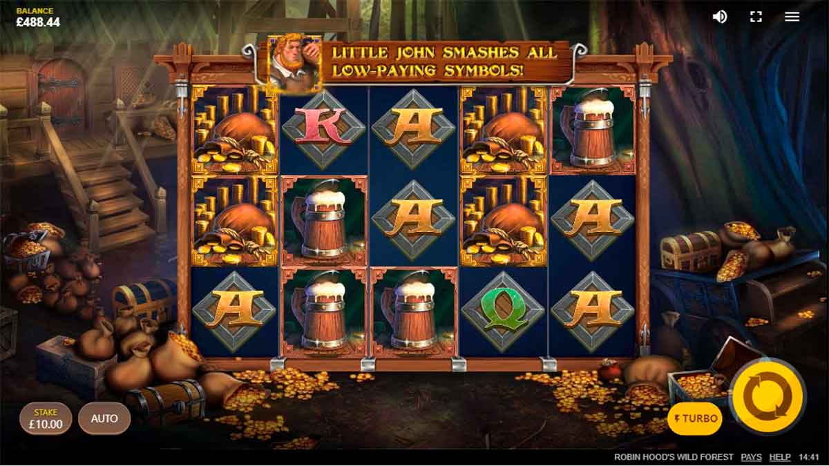 Play Free Robin Hood's Wild Forest Slot