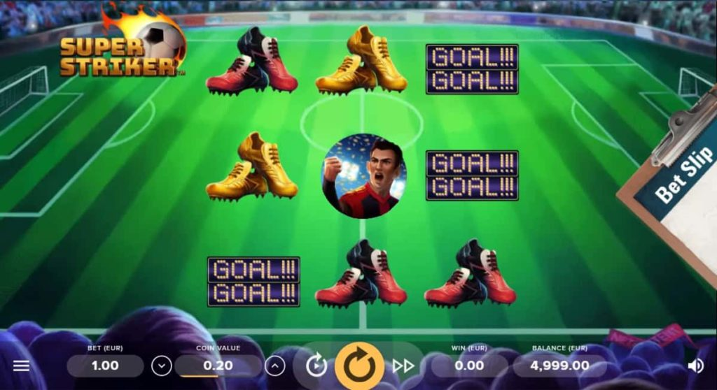Play Free Super Striker Slot