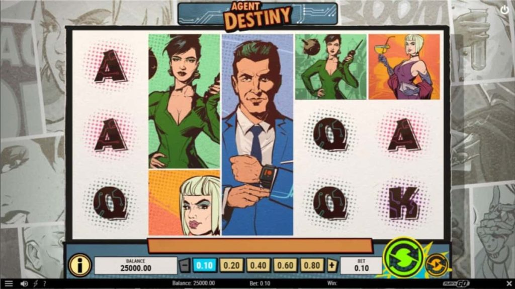 Play Free Agent Destiny Slot