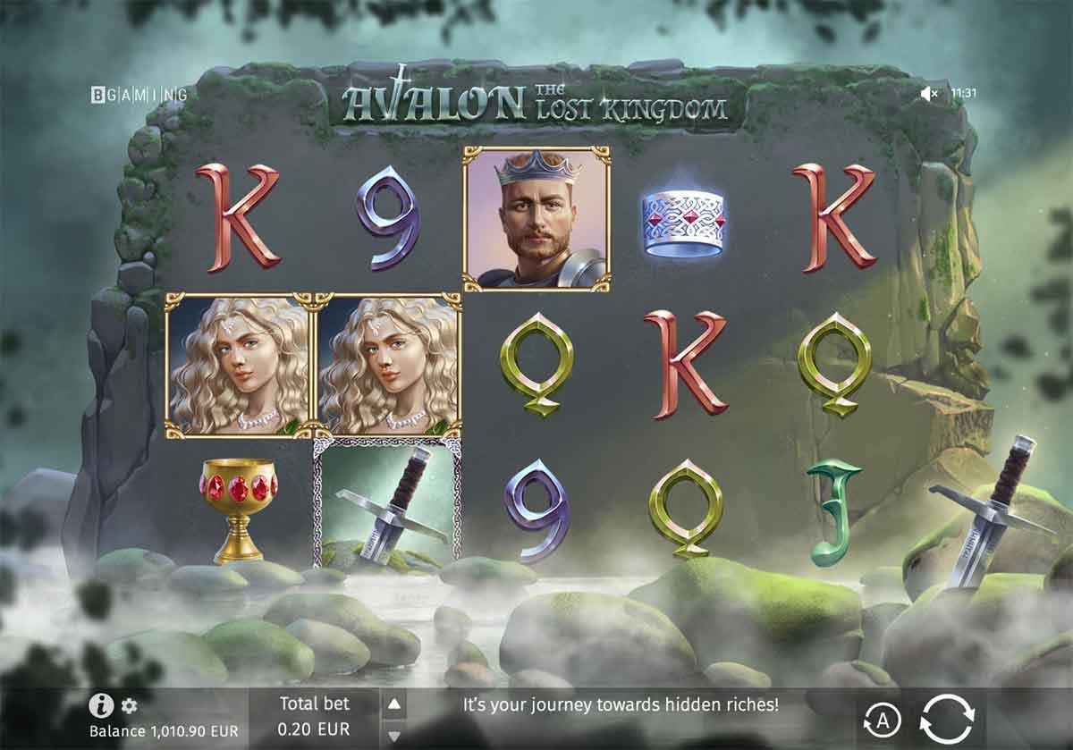 Play Free Avalon: The Lost Kingdom Slot