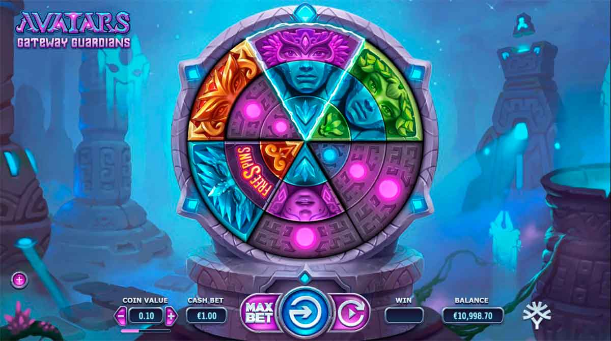 Play Free Avatars: Gateway Guardians Slot