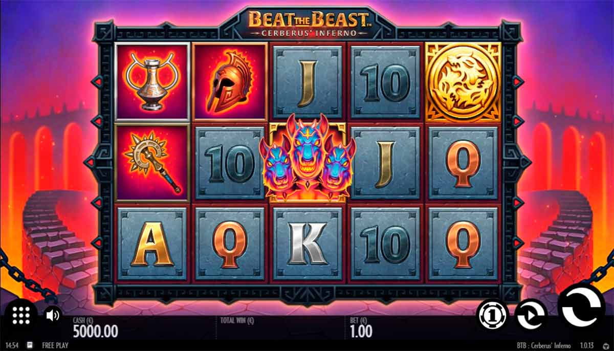 Play Free Beat the Beast: Cerberus' Inferno Slot