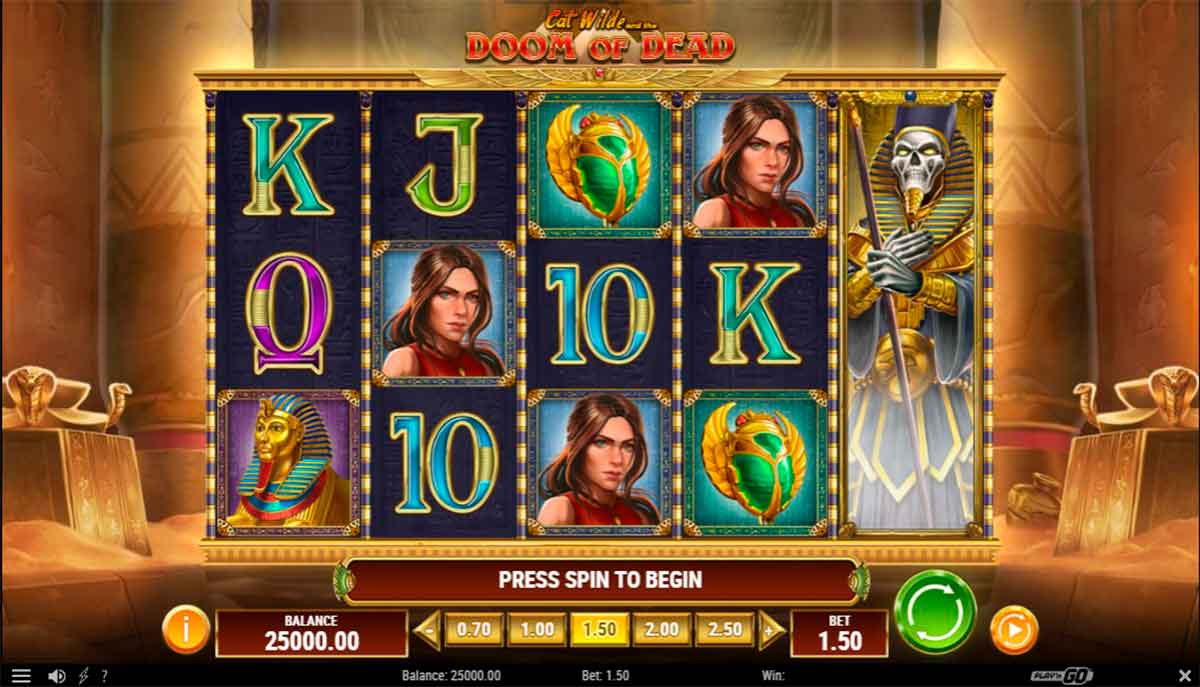 Play Free Cat Wilde and the Doom of Dead Slot