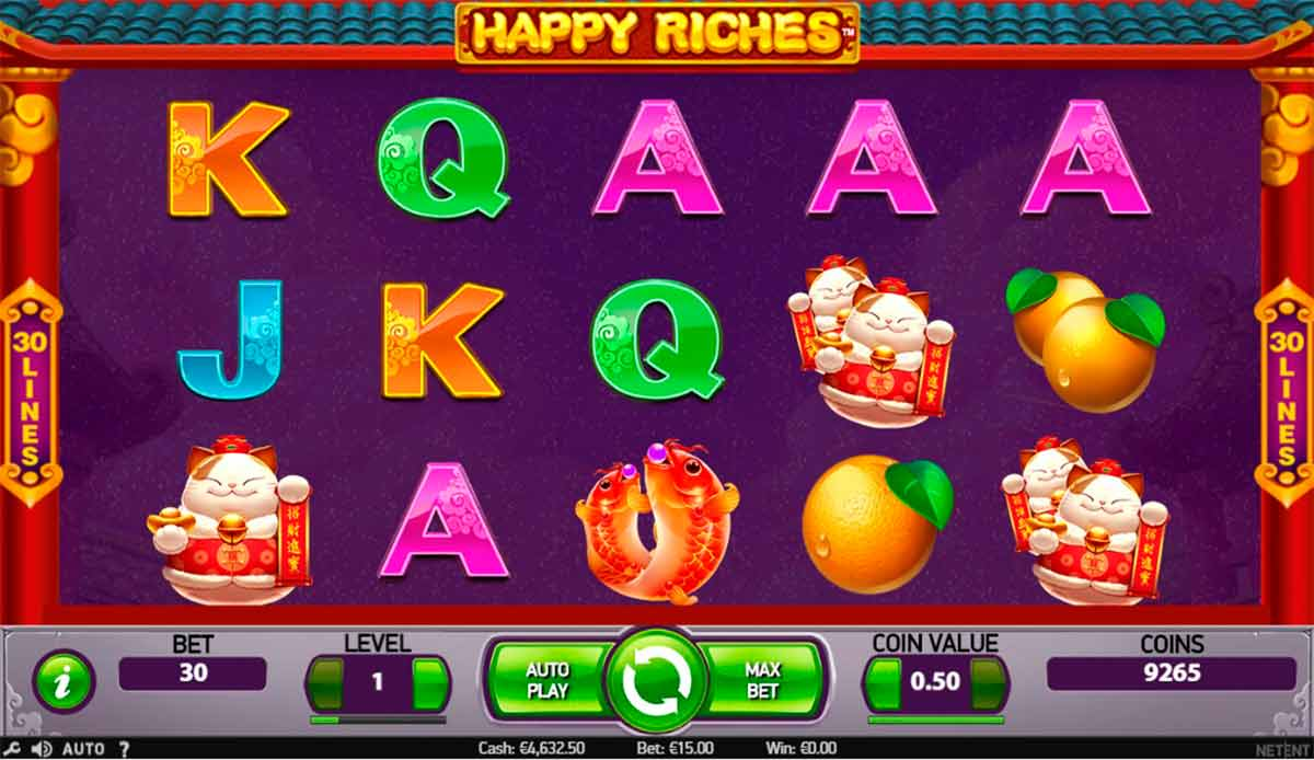 Play Free Happy Riches Slot
