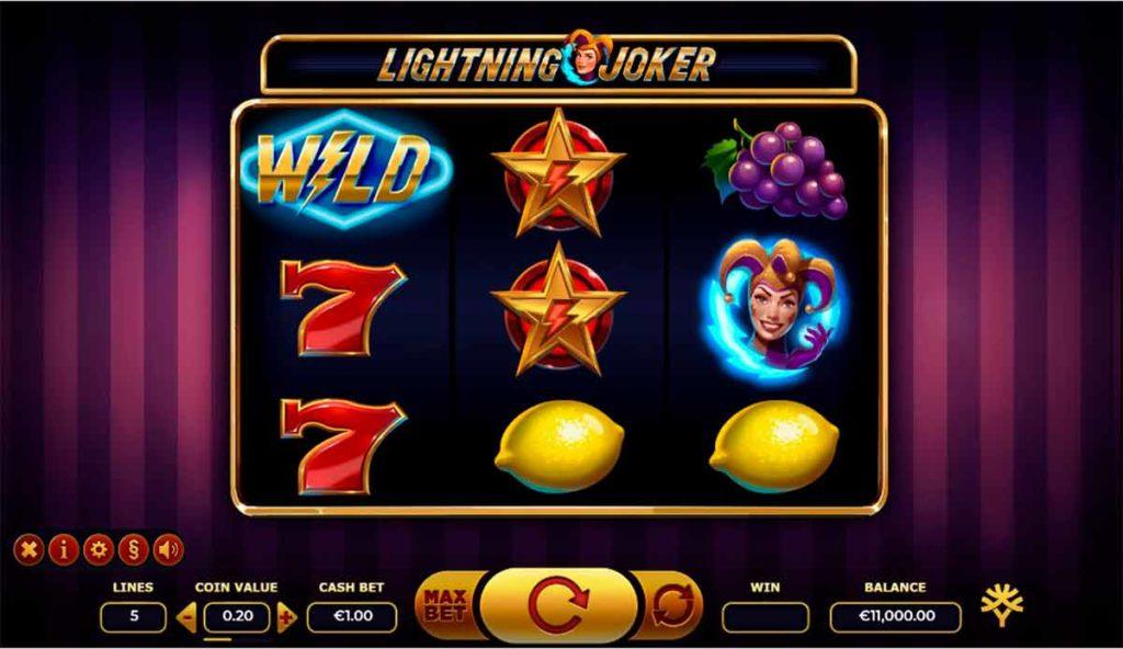 Play Free Lightning Joker Slot