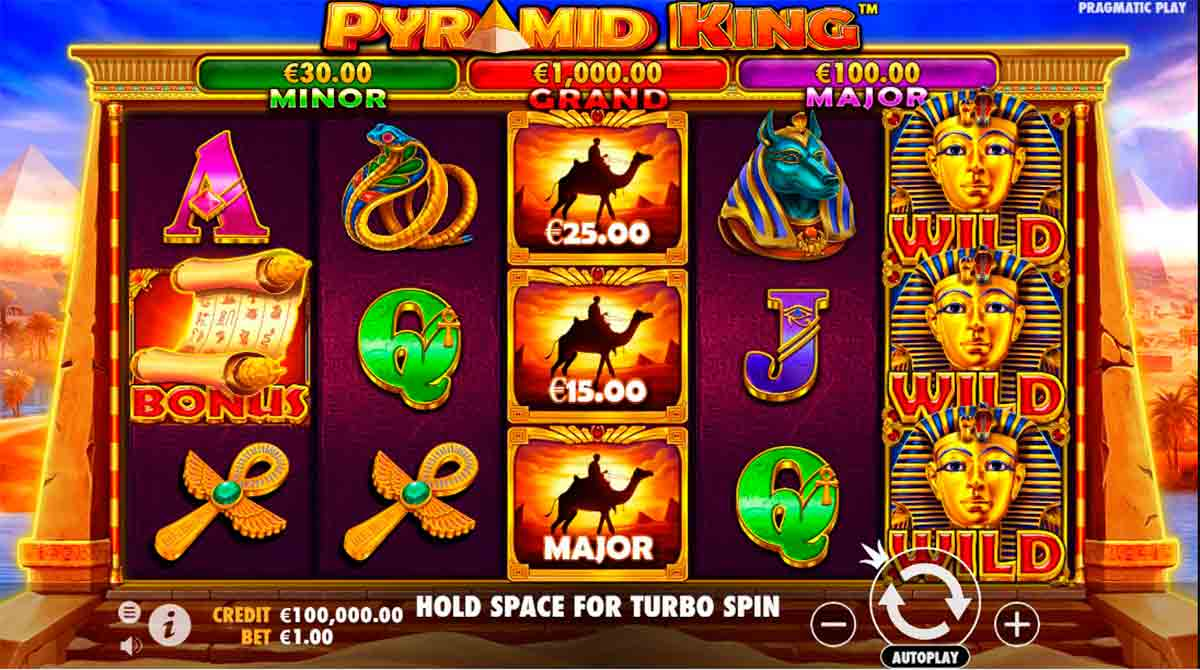 Play Free Pyramid King Slot