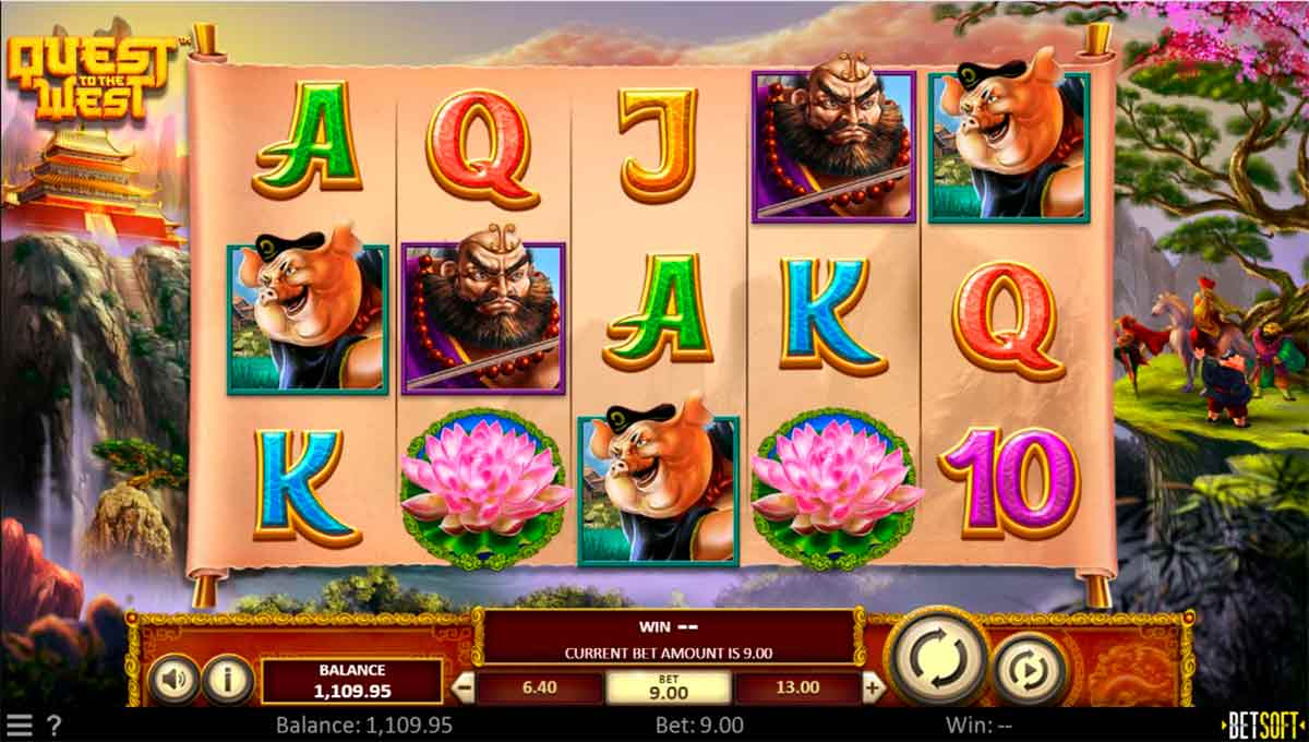 Play Free Quest To The West Slot