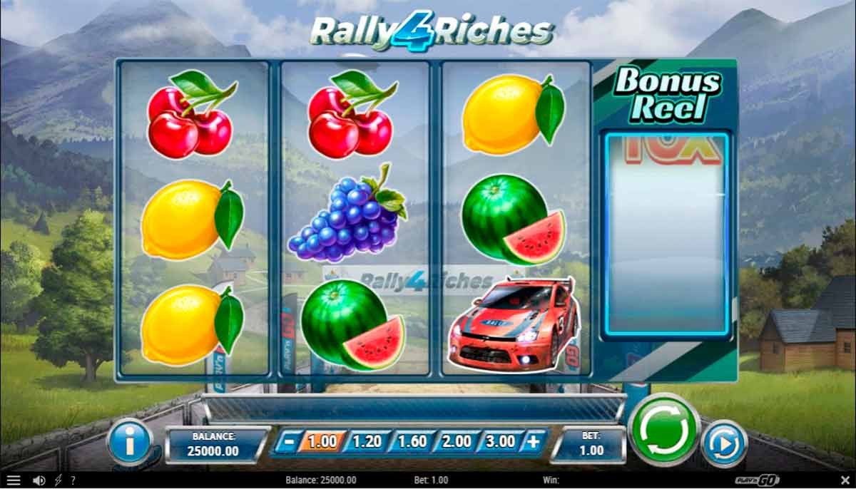 Play Free Rally 4 Riches Slot