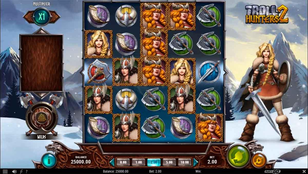 Play Free Troll Hunters 2 Slot