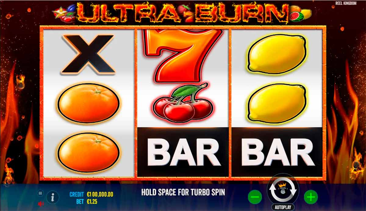Play Free Ultra Burn Slot Review