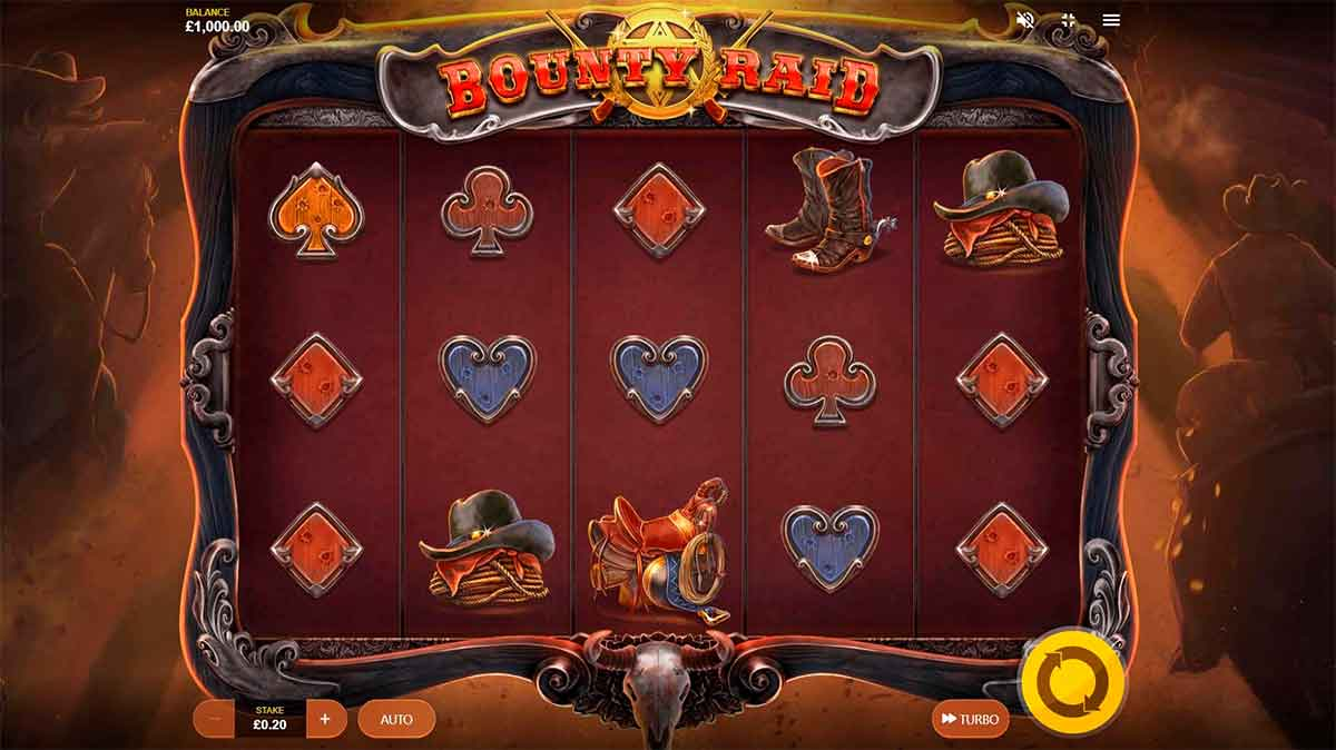 Play Free Bounty Raid Slot