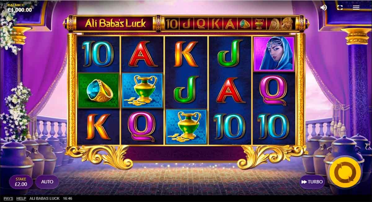 Play Free Ali Baba's Luck Slot